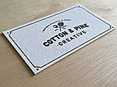 Cotton & Pine Business Card