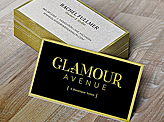 Glamour Avenue Business Card
