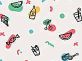 Imperfect Icons Pattern