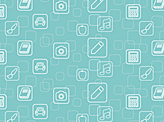 Mobile Apps Repeating Pattern