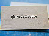 Nova Printed Business Cards