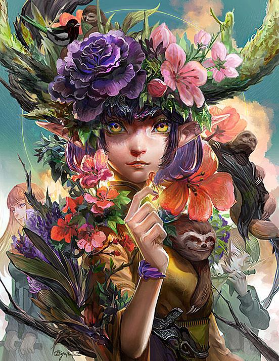 The Spirit of Flower