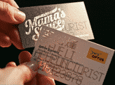 Cut Punched Business Card