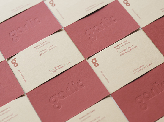 Garlic Business Cards