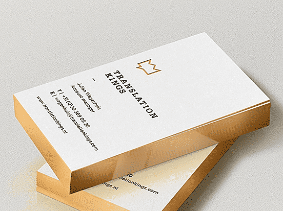 Gijs Dries Business Card