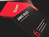 Jamie Heuze Business cards