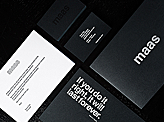 Maas Studio Business Card