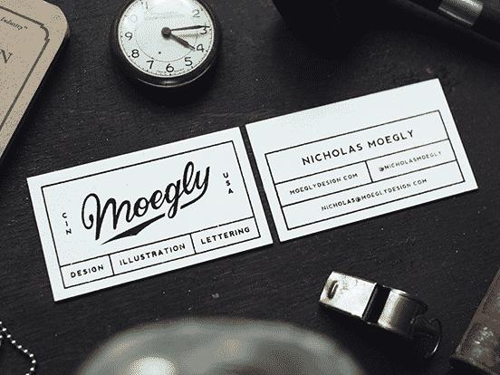 Nicholas Moegly Business Card