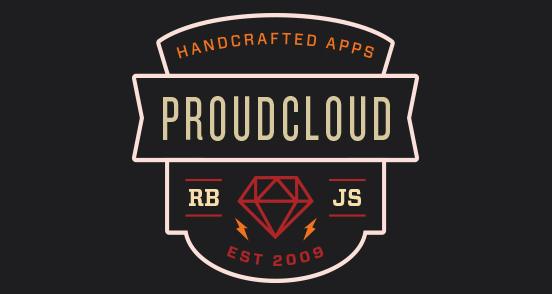 Proudcloud Sticker