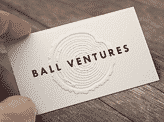Ball Ventures Business Cards