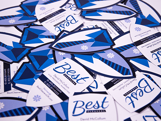 Best Cleaners Business Cards