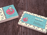 Bubble Drink Business Card
