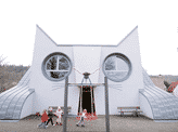 Cat-Shaped Kindergarten