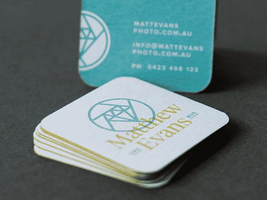 Matthew Evans Business Cards