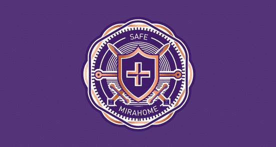 Mirahome Safe Badge