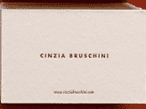 Quirky Textured Business Card