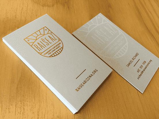 Raise Arizona Business Cards