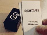Seanwes Post-Duplexed Business Card