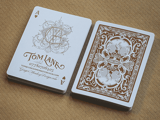 Tom Lane Business Card