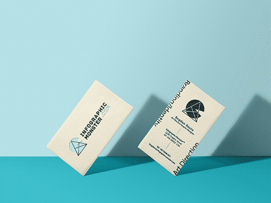 InfographicMonster Business cards