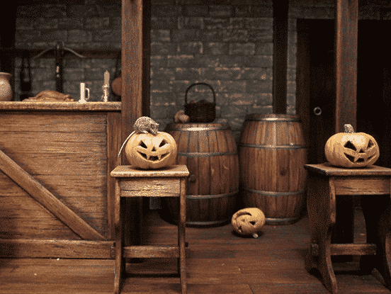 Morning After Halloween