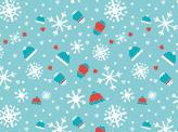 Blue Winter Pattern