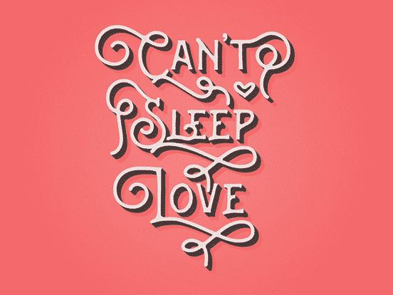 Can't Sleep Love
