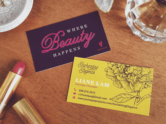 Mani Salazar Business Card