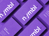 Nymbl Brand Identity Business Cards