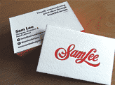 Sam Lee Business Cards