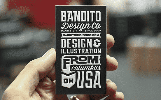 Bandito Business Cards