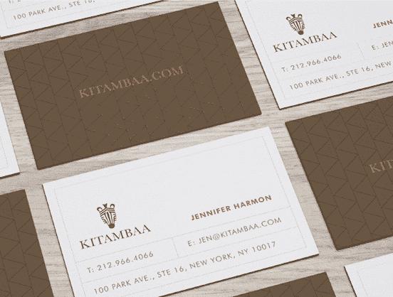 Kitambaa Business Cards
