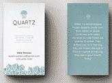 Quartz Business Card