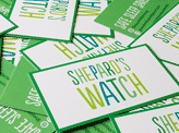 Shepard's Watch Business Cards