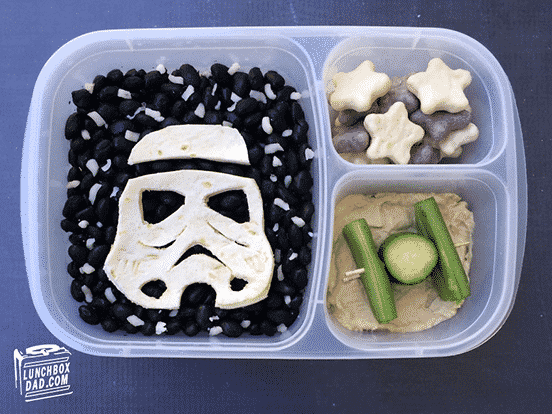 Stormtrooper Tortilla for Building your own darkside burrito