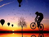 Bike Balloon Perspective