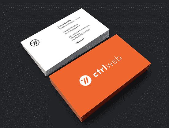 Ctrlweb Business Card