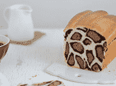 A Leopard Milk Bread