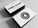 Chris Allen Business Cards