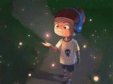 Glowing Friends