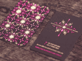Hot Foil Stamped Business Cards