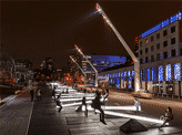 Interactive Light Seesaws in Montreal