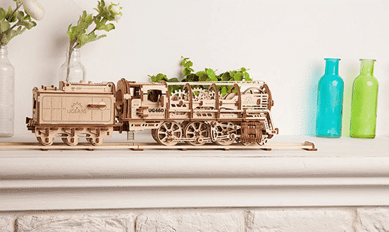 Wooden Hand-Assembled Mechanical Models