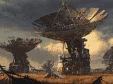 Abandoned Satellite Field