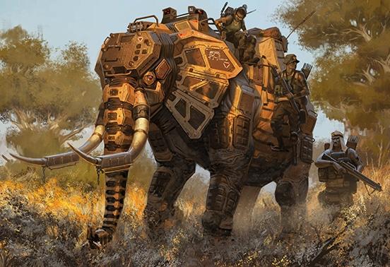 B5 Elephant