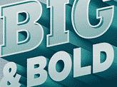 Big & Bold 3D Type