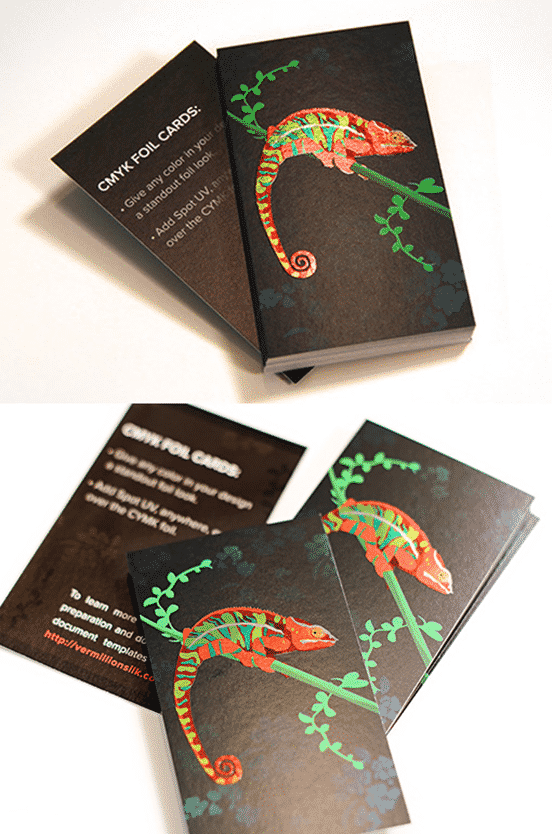 Chamaeleon Business Card