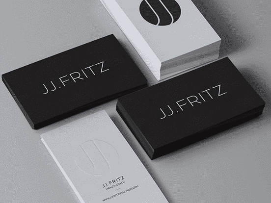 JJ Fritz  Business Card