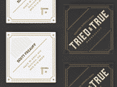 Tried and True Business Cards