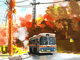 Street With Bus
